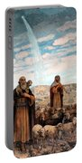 Shepherds Field Painting Portable Battery Charger