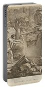 Shepherds In Arcadia Portable Battery Charger