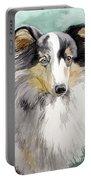 Shetland Sheep Dog Portable Battery Charger