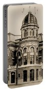 Shibe Park 1913 In Sepia Portable Battery Charger