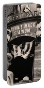 Shibe Park - Connie Mack Stadium Portable Battery Charger by Bill Cannon