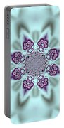 Shimmering Snowflake Portable Battery Charger