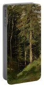 Shishkin, Ivan 1832-1898 Forest Clearing Portable Battery Charger