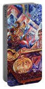 Shiva Parvati Portable Battery Charger
