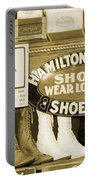 Shoe Shopping In The 30's Portable Battery Charger