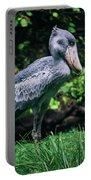 Shoebill Stork Side Portrait Portable Battery Charger