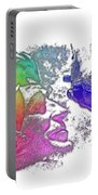 Shoot For The Sky Cool Rainbow 3 Dimensional Portable Battery Charger