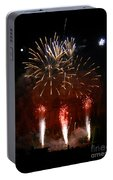 Shooting The Fireworks Portable Battery Charger