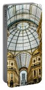 Shopping Anyone? Galleria, Milan Portable Battery Charger