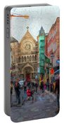 Shopping In Dublin Portable Battery Charger