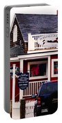 Shopping In Perkins Cove Maine Portable Battery Charger