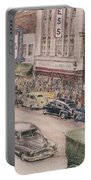 Shopping On Elm St. 1949 Portable Battery Charger