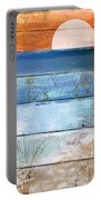 Shore And Sunset Portable Battery Charger
