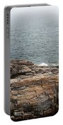 Shoreline And Shipwreck - Portland, Maine Portable Battery Charger
