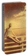Shorncliffe Pier Pin Up Portable Battery Charger