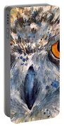 Short Eared Owl Portable Battery Charger