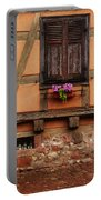 Shutters And Window Box In Kaysersberg Portable Battery Charger