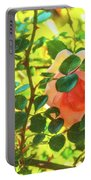 Sketchy Rose Portable Battery Charger