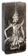 Siam: Dancer, C1870 Portable Battery Charger