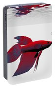 Siamese Fighting Fish Portable Battery Charger