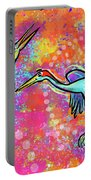 Siberian Cranes Portable Battery Charger