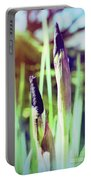 Siberian Iris Bud Portable Battery Charger
