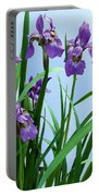 Siberian Iris Portable Battery Charger