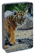 Siberian Tiger Cub Portable Battery Charger