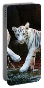 Siberian Tiger Cubs Portable Battery Charger