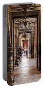 Side Aisle Of The Basilica Of The Mafra Portable Battery Charger
