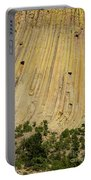 Side Of Devils Tower Portable Battery Charger