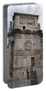 Side View Of The Arch Of Constantine Portable Battery Charger