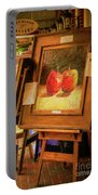 Sidewalk Gallery - Painted Portable Battery Charger