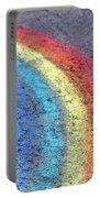 Sidewalk Rainbow  Portable Battery Charger