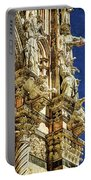 Siena Duomo Statues 1 Portable Battery Charger