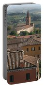Sienna Rooftops Portable Battery Charger by Tom Reynen