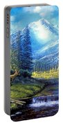 Sierra Mountain Meadow   Portable Battery Charger