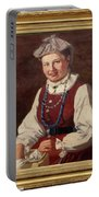 Sigfrid August Keinanen, Woman Standing. Portable Battery Charger
