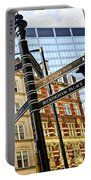 Signpost In London Portable Battery Charger