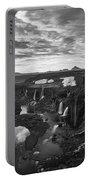 Sigoldufoss Waterfalls Iceland 1291 Portable Battery Charger