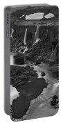 Sigoldufoss Waterfalls Iceland 1294 Portable Battery Charger