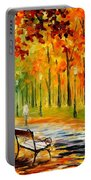 Silence Of The Fall Portable Battery Charger