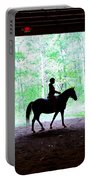 Silhouette Portable Battery Charger