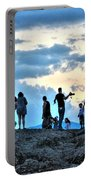 Silhouettes Portable Battery Charger
