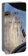 Silken Fountain Curtain -  Portable Battery Charger
