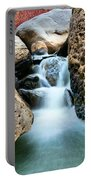 Silky Waters Of Jemez Springs Portable Battery Charger