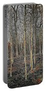 Silver Birch Winter Garden Portable Battery Charger