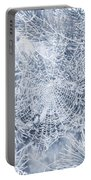 Silver Filigree Portable Battery Charger