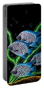 Silver Fish Fantasy Portable Battery Charger