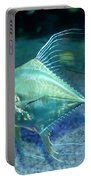 Silver Fish Portable Battery Charger by Svetlana Sewell